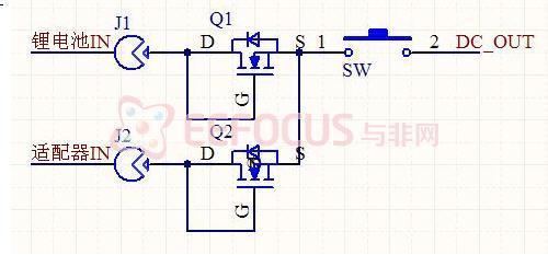 电路中两个nmos采用二极管接法